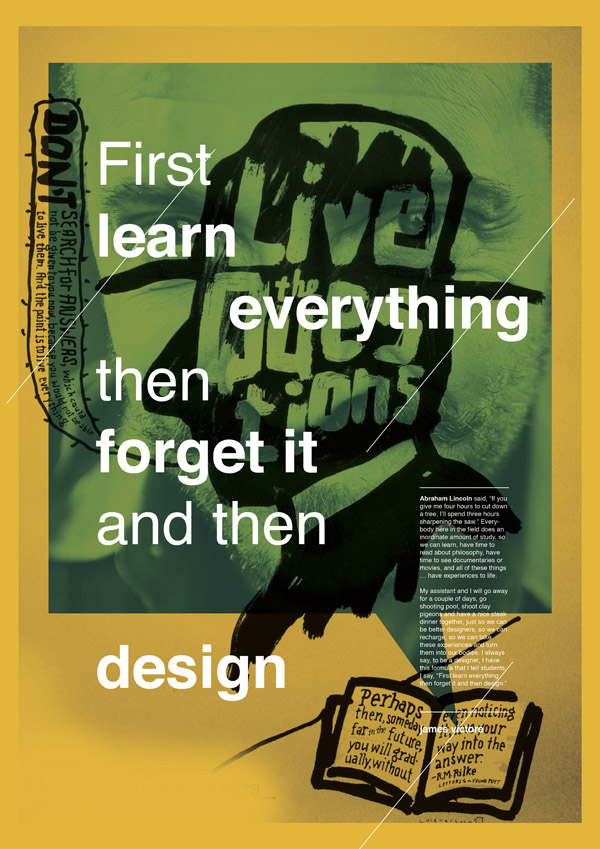 Learn forget design